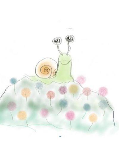 « Jojo l'escargot » Je prends confiance, j'ose me montrer, mais aussi me protéger, je ralentis