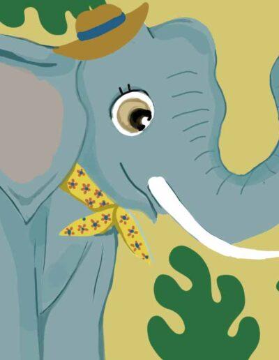 silence-on-bouge-methode-de-meditation-en-mouvement-Ivan l'éléphant-ecrit-par-dorothee-barthlen